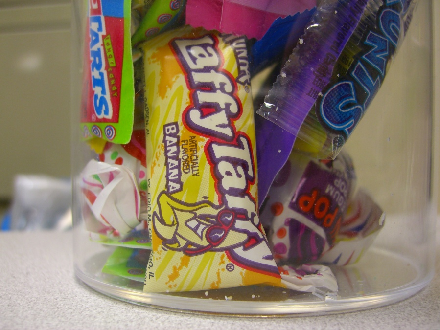 A disgrace to candy everywhere.